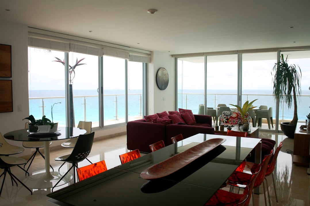 departamento emerald residential cancun